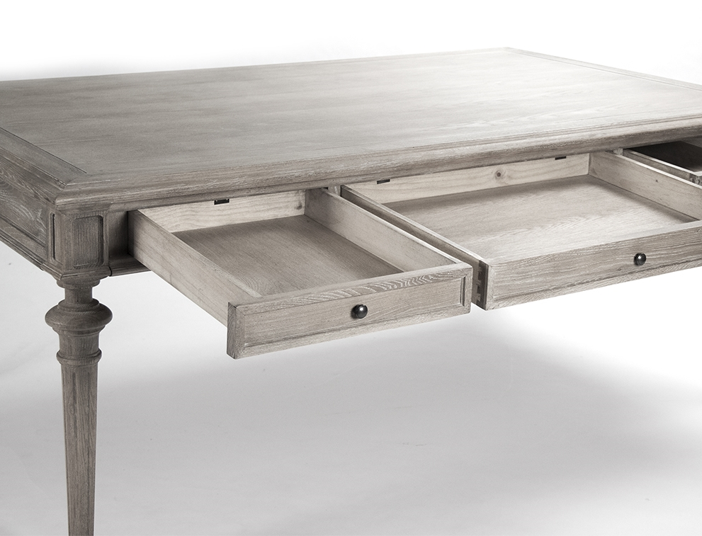 Nadine Dining Table   Limed Grey Oak Part 62