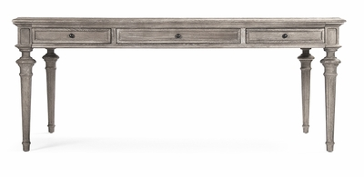 Nadine Dining Table - Limed Grey Oak