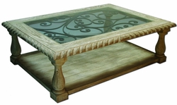 Natural Tuscan Coffee Table