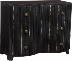 Newport Three Drawer Chest (Manor Graystone)