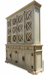 Old Pale Country Cabinet