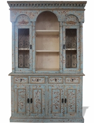 Old World Arch Hutch