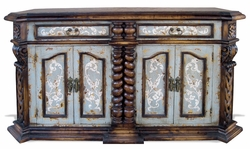 Old World Buffet, Lucas Hand Carved