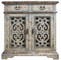 Old World Buffet with Lattice