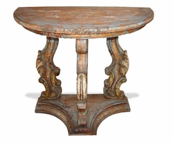 Old World Console Table, Romana
