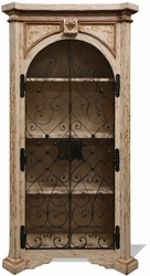 Old World French Bookcase