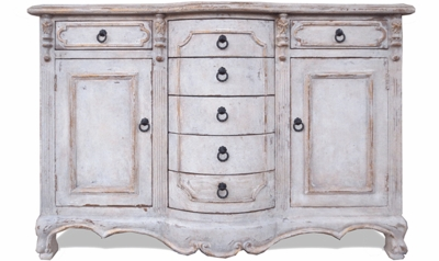Old World French Buffet, Queen