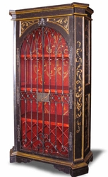 Old World Hand Painted Armoire, Rachelle
