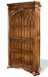 Old World Hand Painted Armoire Raquel