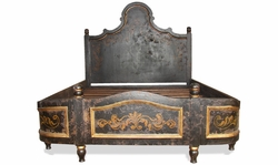 Old World King Bed Baroque