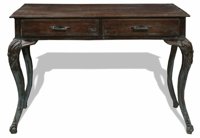 Old World Mediterranean Sofa Table