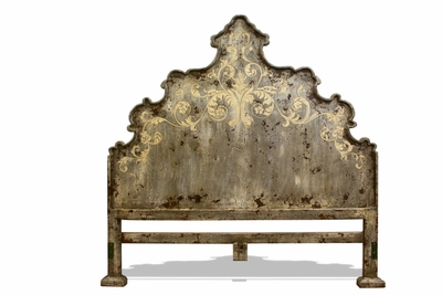 Old World Tuscan King Bed Headboard