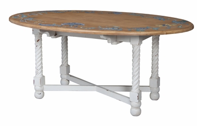 Oval Drop Leaf Table