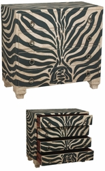Parma Chest (Zebra Stripe)