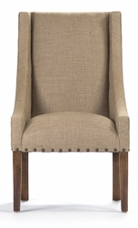 Paulette Chair - Burlap