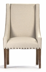 Paulette Chair -  Light Natural Linen