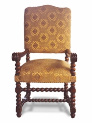 Peruvian Arm Dining Chair (one pair)