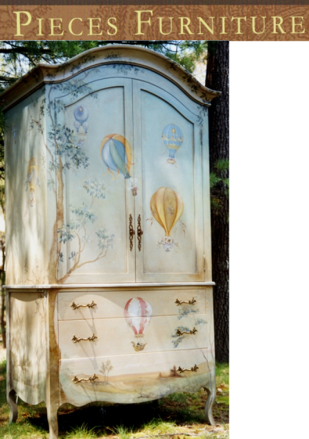 PIECES Is A Unique Line Of Hand Painted Furniture, Inspired By The Best Of  Eighteenth Century Style. Pieces Offers Classic Designs In Oils And Faux  Finishes ...