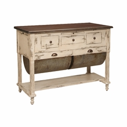 Possum Belly Kitchen Island