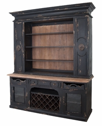 Prince Cabinet with Reclaimed Wood