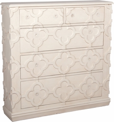 Quatrefoil Wall Chest