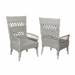 Rattan Chair - one pair