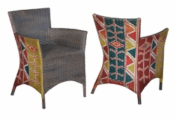 Rattan Peel Chair - one pair
