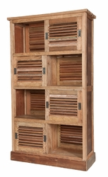 Reclaimed Louvered Cabinet