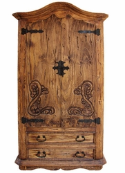 Reclaimed Wood Armoire Ede