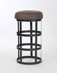 Recycled Metal Bar Stool (one pair)