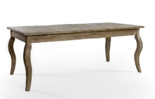 Rhone Dining Table (Limed Grey Oak)