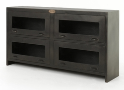 Rockwell Media Cabinet - Antique Iron