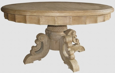 Round Dining Table Amelia, Provenzal