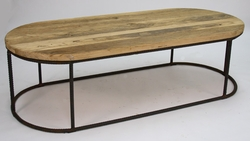 Rustique Rounded Coffee Table