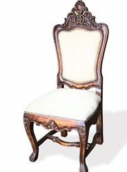 Spanish Carved Chair (one pair)