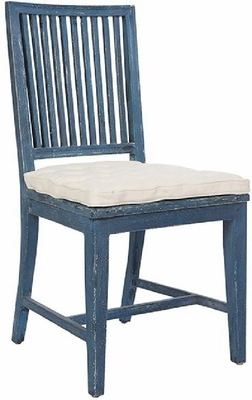 Staffan Chair in Swedish Blue - one pair