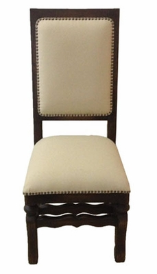 Straight Top Side Dining Chair (one pair)