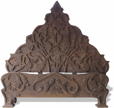 Traditional Old World Bed