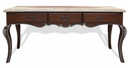 Traditional Old World Sofa Table
