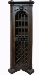 Traditional Old World Wine Cabinet