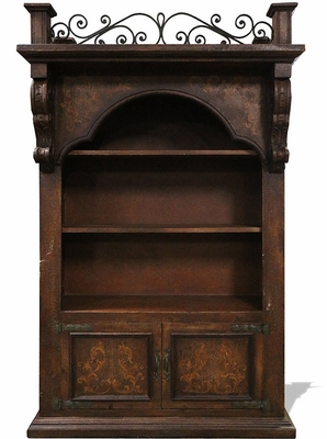 Traditional Tuscan Balcony Cabinet