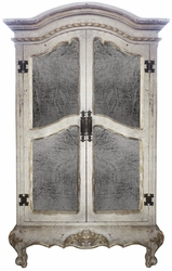 Traditional Tuscan Old World Armoire Laurette