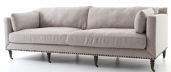 Turned Leg Sofa Axis Stone