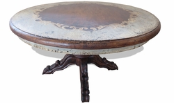 Tuscan Napoleon Round Dining Table