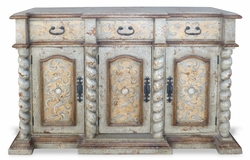 Tuscan Sideboard, San Francisco with Turned Columns