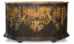 Tuscany Sideboard,  Torched Black