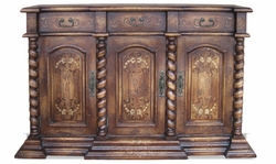 Tuscany Sideboard with Turned Columns