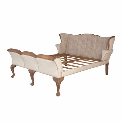 Washington Sleigh Bed-King