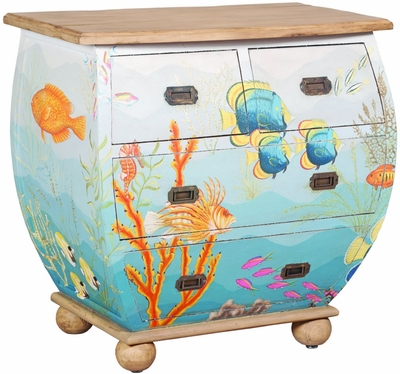 Waterfront Bombe Chest
