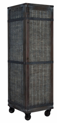 Waterfront Rattan Storage Cabinet